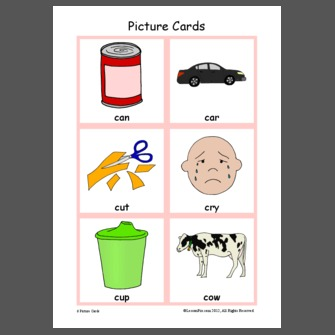 2 letter words with c letter c picture cards 20028 | Letter%2BC%2BPicture%2BCards