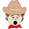 Surprised Cowboy Picture