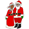 Santa and Mrs Claus Picture