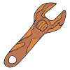 Rusty Wrench Picture