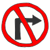 No Turn Picture