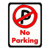 No Parking Picture