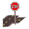 stop sign on street Picture