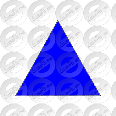 Blue Triangle Picture
