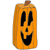 Rectangle Pumpkin Picture