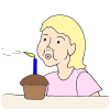 Blow Candle Picture