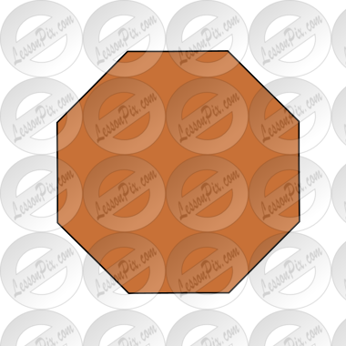 Brown Octagon Picture