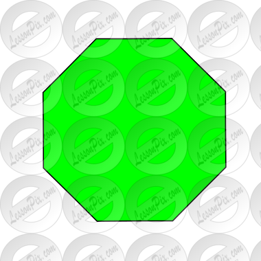Green Octagon Picture