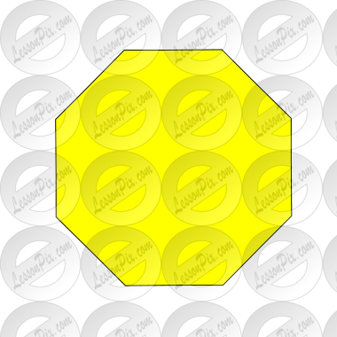 Yellow Octagon Picture