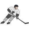 Hockey Player Picture