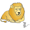 Lion and Mouse Picture