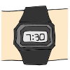Digital Watch Picture