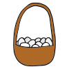 Basket of Eggs Picture