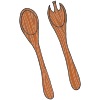 Salad Servers Picture