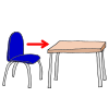 table and chair Picture