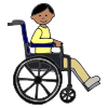Boy in Wheelchair Picture