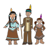 Three Little Indians Picture