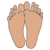 feet prints Picture